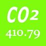 CO2 atmosphérique